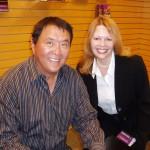 Rich Dad's Robert Kiyosaki with Melanie Rembrandt