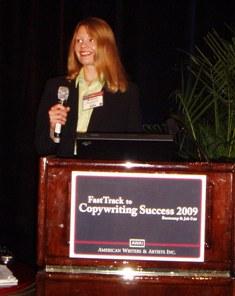 Melanie Rembrandt Presentation at AWAI