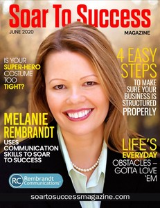Melanie Rembrandt - Copywriter - Soar to Success Cover Model
